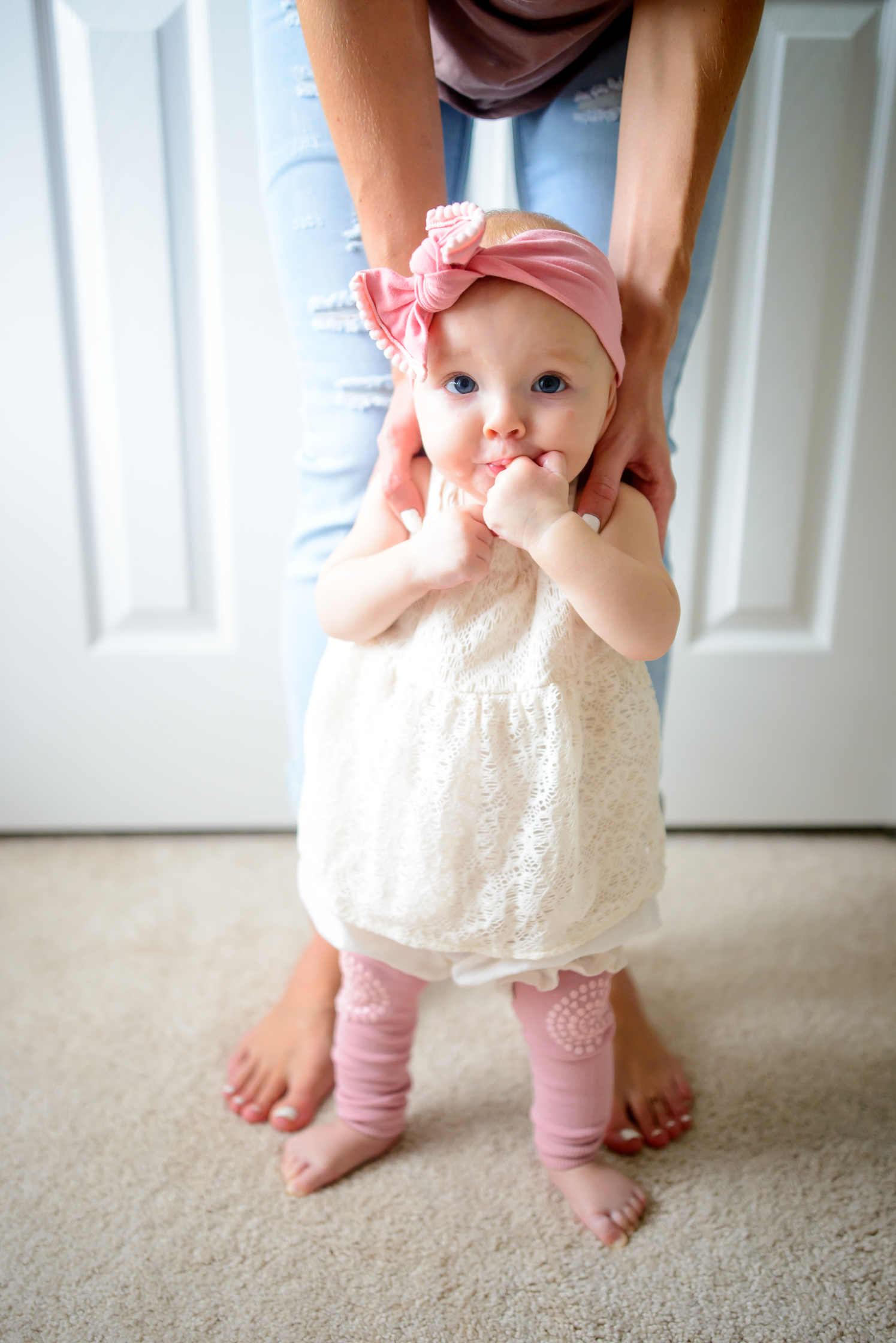 5 Months, Baby Avery - Hello Ivory Rose