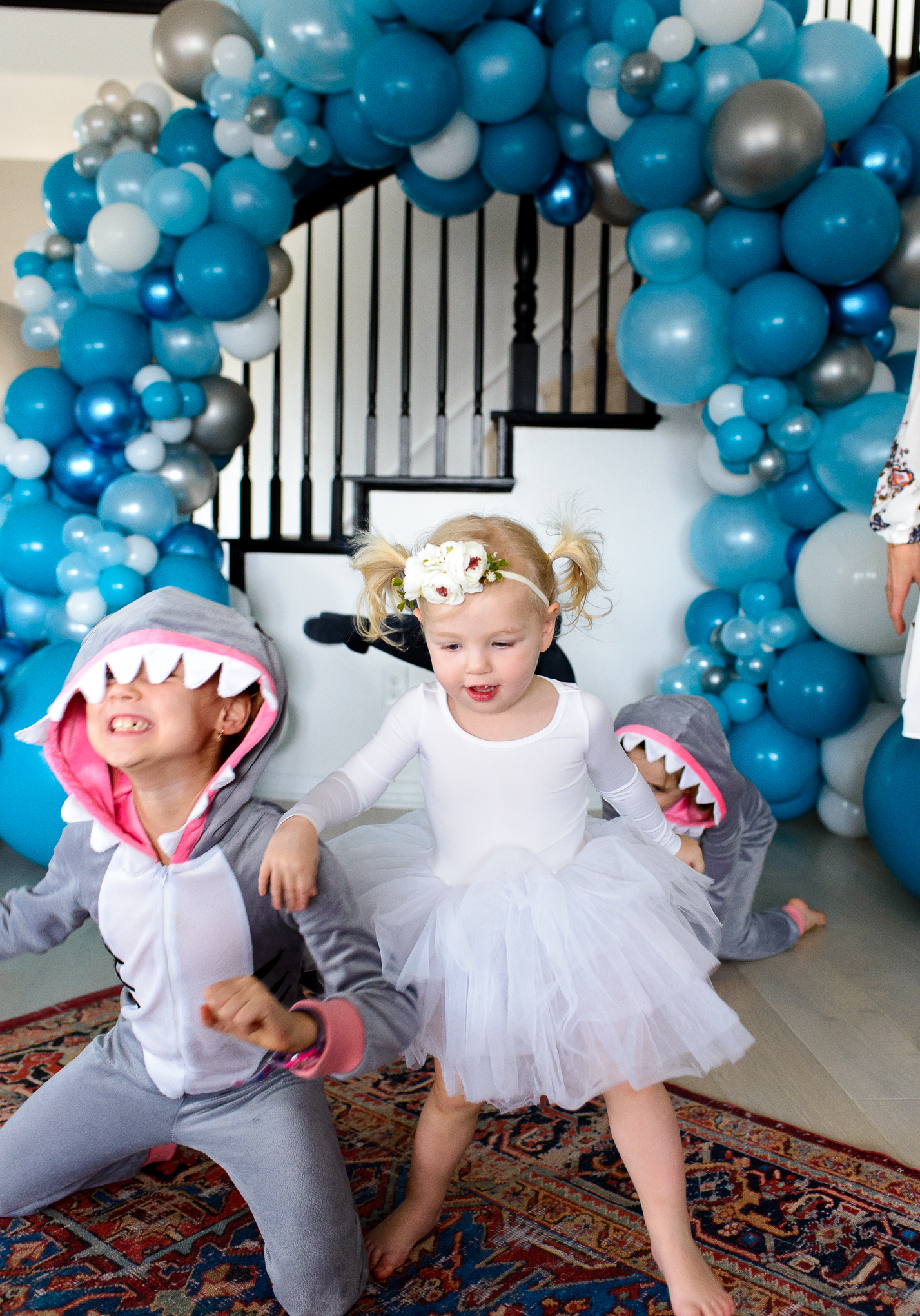 Baby Shark 2nd Birthday Party! - Hello Ivory Rose